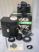 VINTAGE Kamera USSR KIEV 60 TTL. Lens MC VOLNA-3.----- 2,8/80