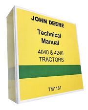 John Deere 4240 Tractor Technical Service Shop Manual