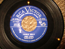 Perry Como 'Santa Claus Is Comin' To Town/JIngle Bells' 45 EX