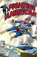 Fighting American Comic Issue 1 Limited Variant Modern Age First Print 2017