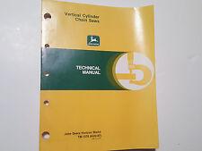 John Deere Vertical Chainsaws Technical Manaul TM-1379