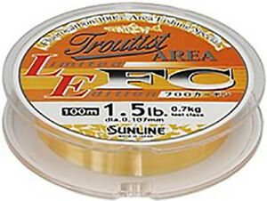 Sunline Troutist Area limited edition fluorocarbon 100M line