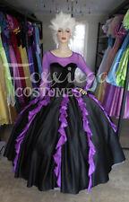 Sea Witch Ladies Fancy Dress Costume Halloween Ursula Inspired Disney 12-14
