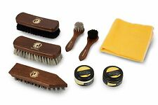 Finest Pure Horsehair Shoe Care Kit – Buffing Polishing Nourishment Leather...