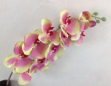 Orchideenzweig 107 cm grün Seidenblumen Kunstblumen künstliche Orchidee wie echt