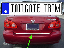 Toyota COROLLA 2003 04 05 06 2007 Tailgate Trunk Trim