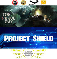 The Purge Day + Project Shield PC Digital STEAM KEY - Region Free for VR