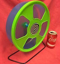 Ratto di plastica esercizio RUOTA 11 pollici su supporto o clip su SILENT Criceto Gerbillo