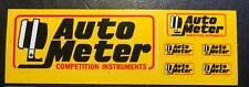 Auto Meter Competition Instruments Hot Rod Nascar Race Car NHRA Sticker/Decal