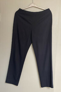 Vintage 80 St Michael Marks Spencer Black Classic Trousers