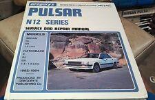 1982 1983 1984 NISSAN PULSAR N12  Workshop Manual