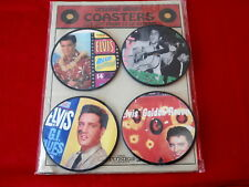 ELVIS~ ORIG. ALBUM COASTERS ~CUT OUT FROM 33 LP ALBUMS~ NEW ~RARE ~ COLLECTABLES