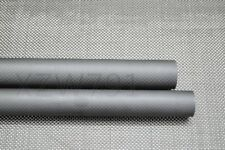 28mm OD X 26mm ID X 1000MM Matte Surface Roll Wrapped Carbon Fiber Tube 3K US