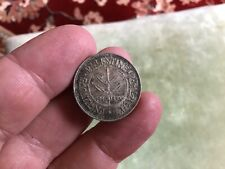 Palestine 1940 Fifty 50 Mils Silver Coin