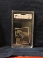 ROOKIE CARD 1948 BOWMAN#77 PAUL SARRINGHAUS GRADED A 3