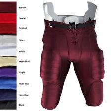 Men's Adult Football Pants Maroon Size Large Adams Nwt New