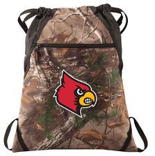 Louisville Camo Cinch Pack REALTREE University of Louisville Drawstring Bag