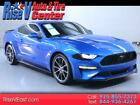 2019 Ford Mustang EcoBoost Coupe 2019 Ford Mustang EcoBoost Coupe 38082 Miles Blue Coupe 2.3L L4 DOHC 16V Automat