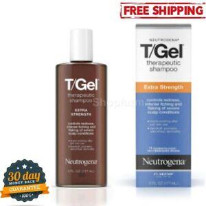 Neutrogena T/Gel Extra Strength Therapeutic Shampoo Anti-Dandruff Treatment 6 Oz