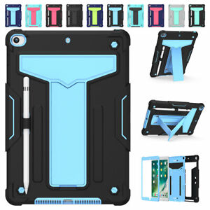 For Apple iPad 8th 7th Generation 10.2'' 2020 Shockproof Rugged Case Stand Cover