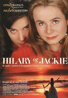 Hilary And Jackie Emily Watson Rachel Griffiths 1998 Danish Movie Press Release