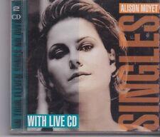 Alison Moyet-Singles Live 2 cd album