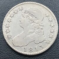 1813 Capped Bust Half Dollar 50c Better Grade Rare #27469