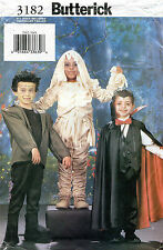 Butterick Children's Halloween Costumes Sewing Pattern 3182  S-XL UNCUT