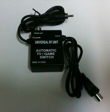 NEW PAL AUTO RF Switch RFU lead for SEGA MASTER SYSTEM 1 or 2 (NOT FOR USA &CAN)