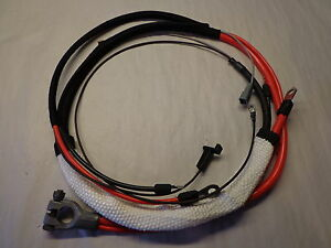 68-69 Mopar B Body Charger GTX 426 Hemi 4 Speed Concours Positive Battery Cable