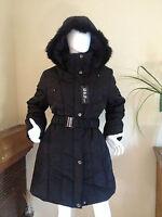 Veste Manteau Doudoune Longue Femme à Capuche Fourrure Grande T1 2 3 4 5 6 13032