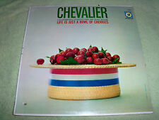 """MAURICE CHEVALIER*LIFE IS JUST A BOWL OF CHERRIES*1960 M.G.M*12""""33 RPM*LP MINT"""