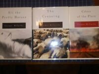 The Border Trilogy: All the Pretty Horses, Crossing & Cities, by Cormac McCarthy