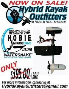 Hobie Kayak Mirage Drive Watersnake 24 Lb/Thrust Trolling Motor Cassette Kit