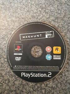 Manhunt - PlayStation 2 - PS2 - Game - Disc Only