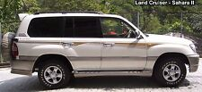 Toyota land cruiser 100 series body decal sticker full set
