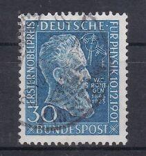 Briefmarken aus der BRD (1948-1954) mit Wissenschafts-Motiv