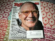 Rolling Stone May 2015 1235 Letterman Taylor Swift Marilyn Manson