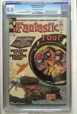 CGC 8.0 Fantastic Four #38 *OW-White*1965*Paste-Pot-Pete becomes Trapster*
