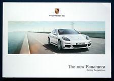 Prospekt brochure New Porsche Panamera (estados unidos, 2013)