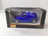 Maisto Special Edition Chrysler Panel Cruiser Blue 2000 Die Cast Toy Car #21008