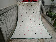 Moroccan Berber Azilal Rug100% Wool Handmade Bohemian Traditional Carpet