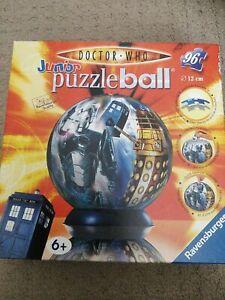 "RAVENSBURGER JigSaw ""Doctor Who"" Junior Puzzleball (96 Piece) 2007"