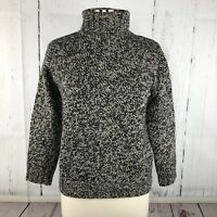 Max Mara Weekend Womens Sweater Sz S Chunky Knit Wool Turtleneck Italy Marled