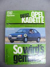 So wirds gemacht Nummer 52 Opel Kadett E Diesel  Reparaturanleitung Etzold