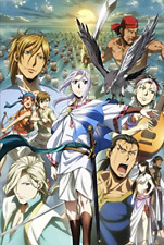 HEROIC LEGEND OF ARSLAN-DUST STORM DANCE BLU-RAY BOX-JAPAN 4 BLU-RAY AM38