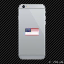 American Flag Cell Phone Sticker Mobile Die Cut america usa
