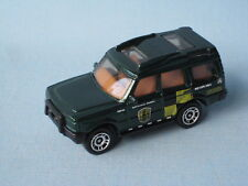 Matchbox Land Rover Discovery Green Body National Parks Fire Patrol Toy Car 70mm