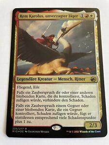 Rem Karolus, unverzagter Jäger - Innistrad Mitternachsjagd - Foil MTG Magic