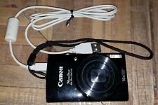 CANON PowerShot ELPH 190 IS 20 MP Digital Camera - Black 10x Optical Zoom